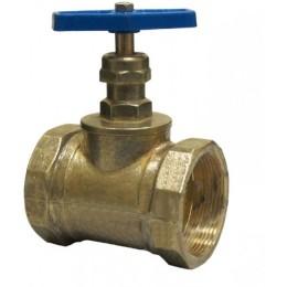 Вентиль (Клапан) D50-1 латунь прямоточный муфта/муфта