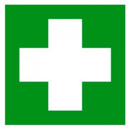 Знак Аптечка первой помощи 150х150